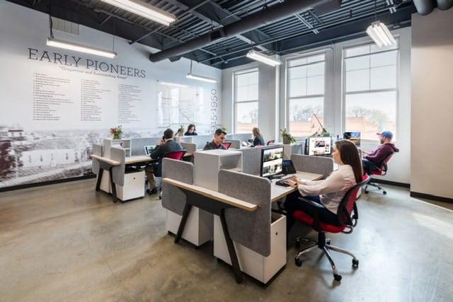 Trendy Open Coworking Space