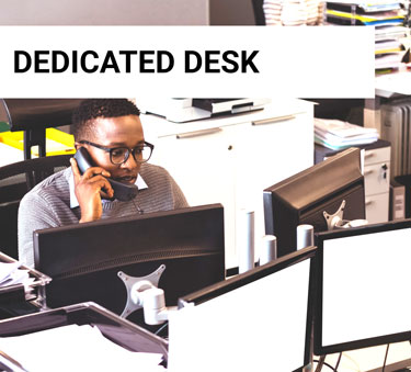 dedicated desk